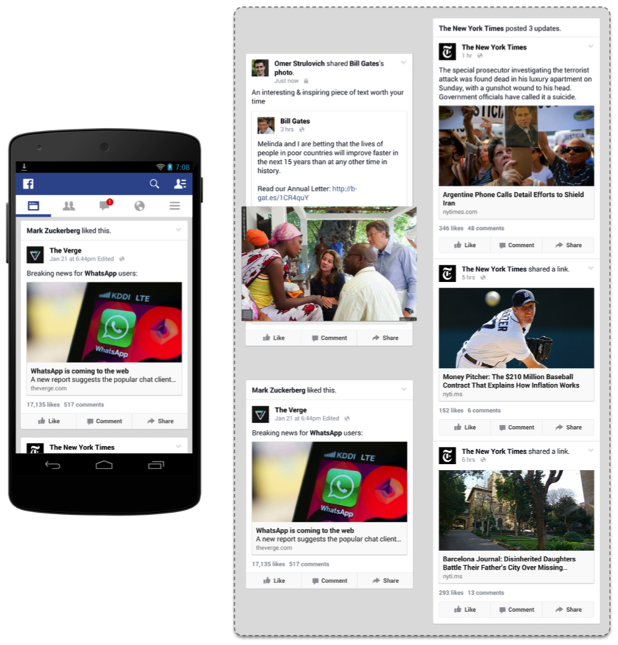 Fast Rendering News Feed on Android - Facebook Code