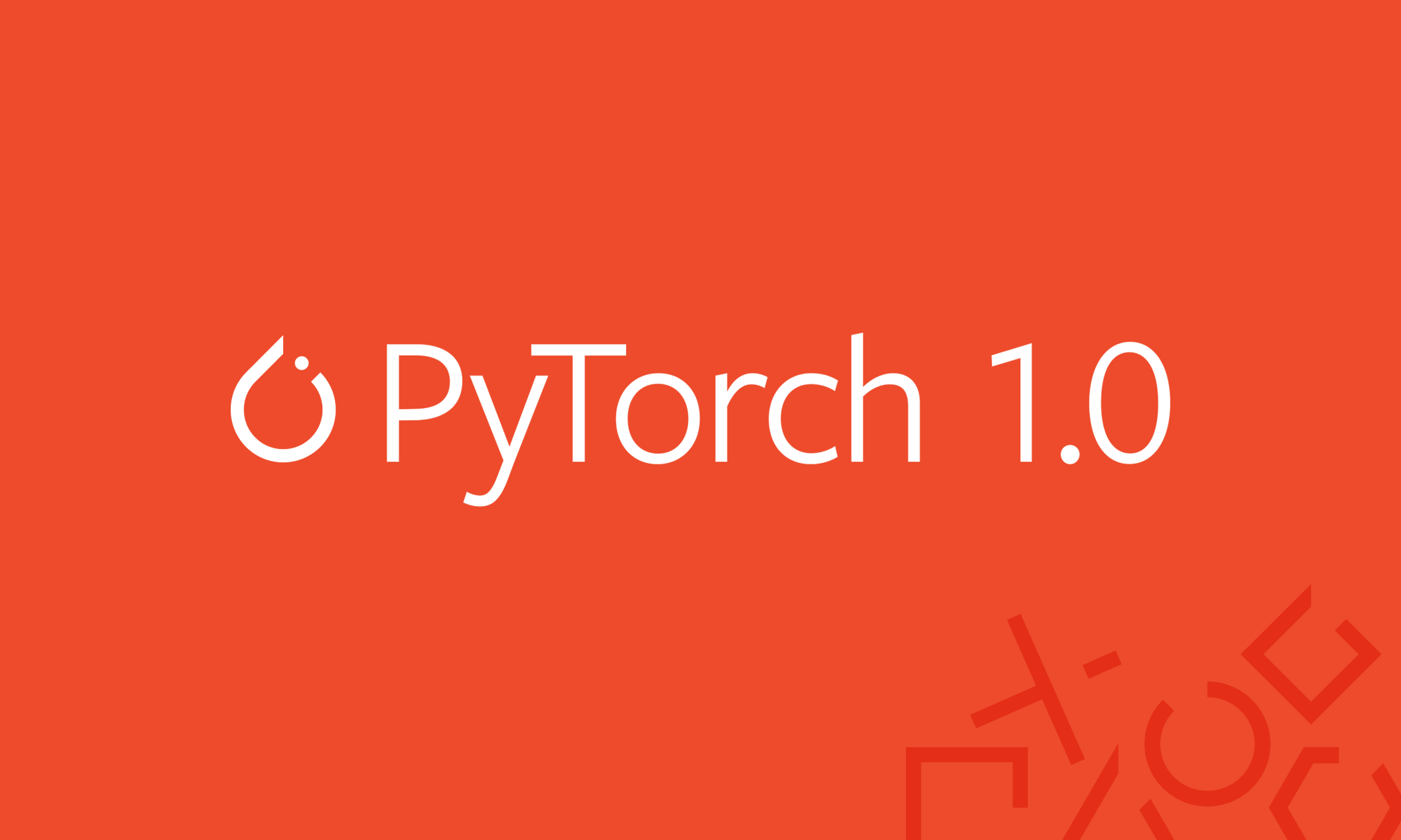 Announcing PyTorch 1 0 for both research and production - Facebook Code
