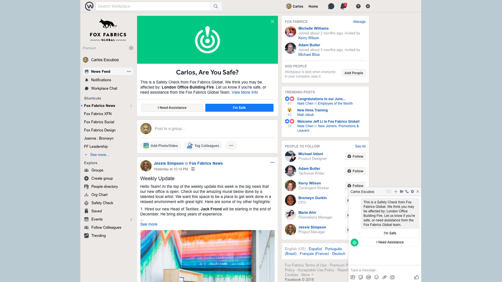 Facebook support chat deutsch  New Tools to Support Group