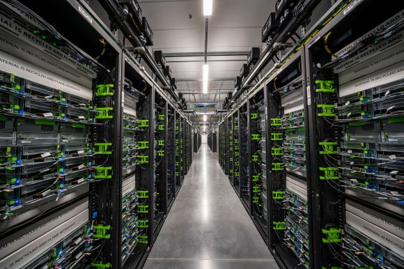Facebook's newest data center in Los Lunas, New Mexico